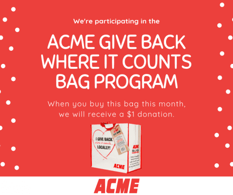 Acme Reusable Bag Program @ Acme of Denville | Denville | New Jersey | United States